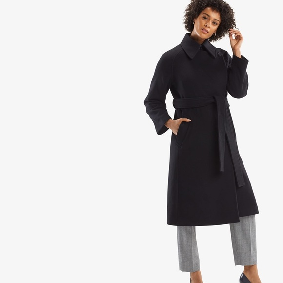MM Lafleur Jackets & Blazers - NWT MM Lafleur The Sophia Coat in Black